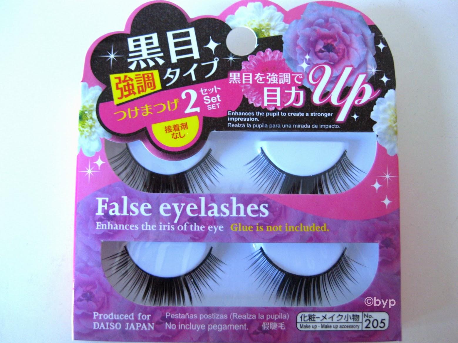 Adventures Of A Bright Young Person Make Up Daiso False Eyelash