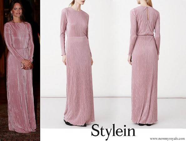 Princess Sofia wore Stylein Ixoy Dress