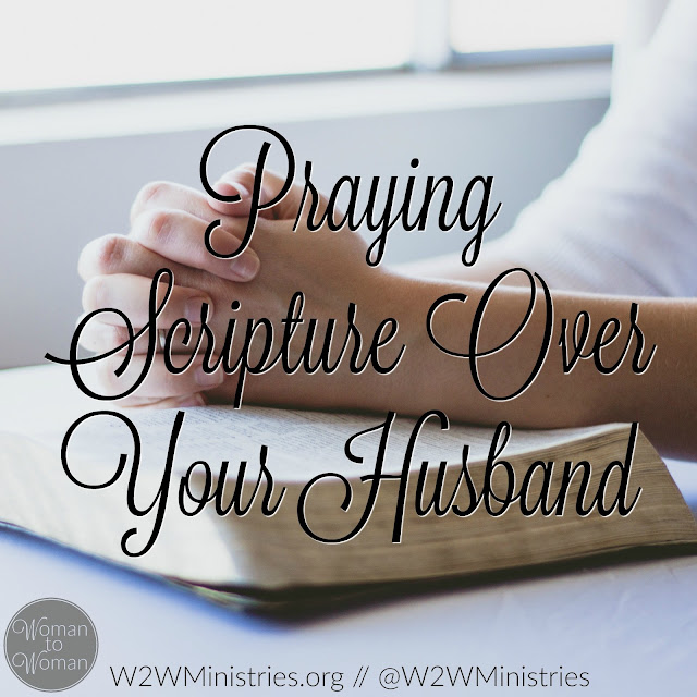How to pray Scripture over your husband. #prayer #prayingwife #marriage