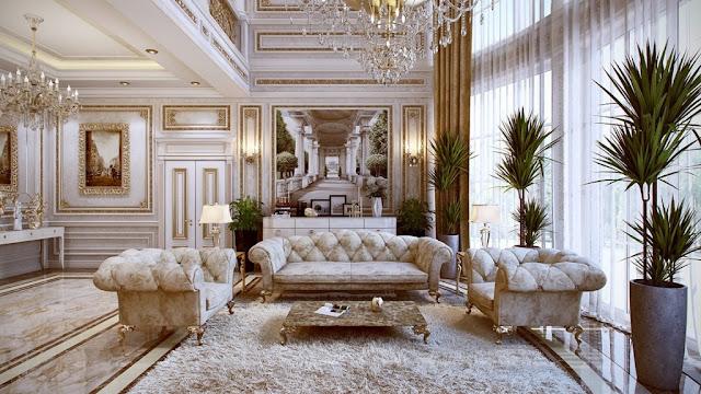 nội thất phòng khách tại căn hộ chung cư King Place