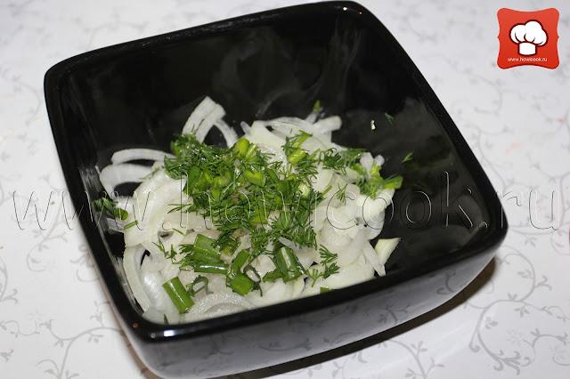 рецепт маринованного лука к шашлыку с пошаговыми фото