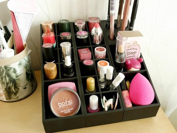Uniq : les rangements à maquillage modulables !