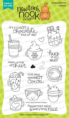 Cup of Cocoa Stamp Set by Newton's Nook Designs #newtonsnook