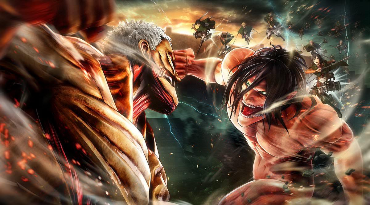DESCARGAR/DOWNLOAD] Attack on Titan 2 SWITCH [ XCI] REGION FREE [ESP