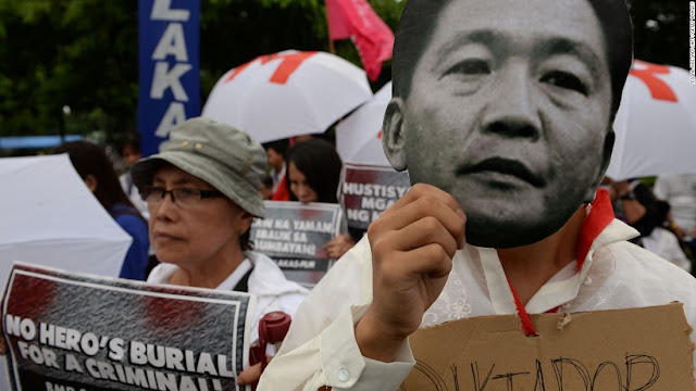 Tortures, tales of Martial Law resurface in Marcos burial protest