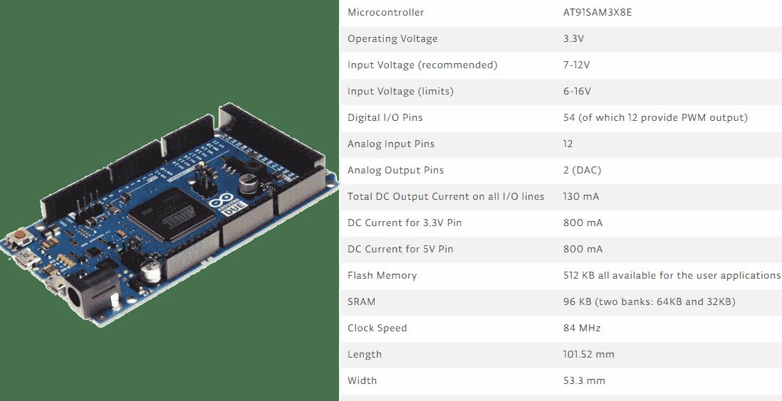 لوح الاردوينو دو Arduino Due
