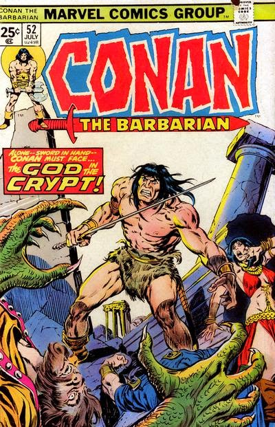 Conan the Barbarian #52