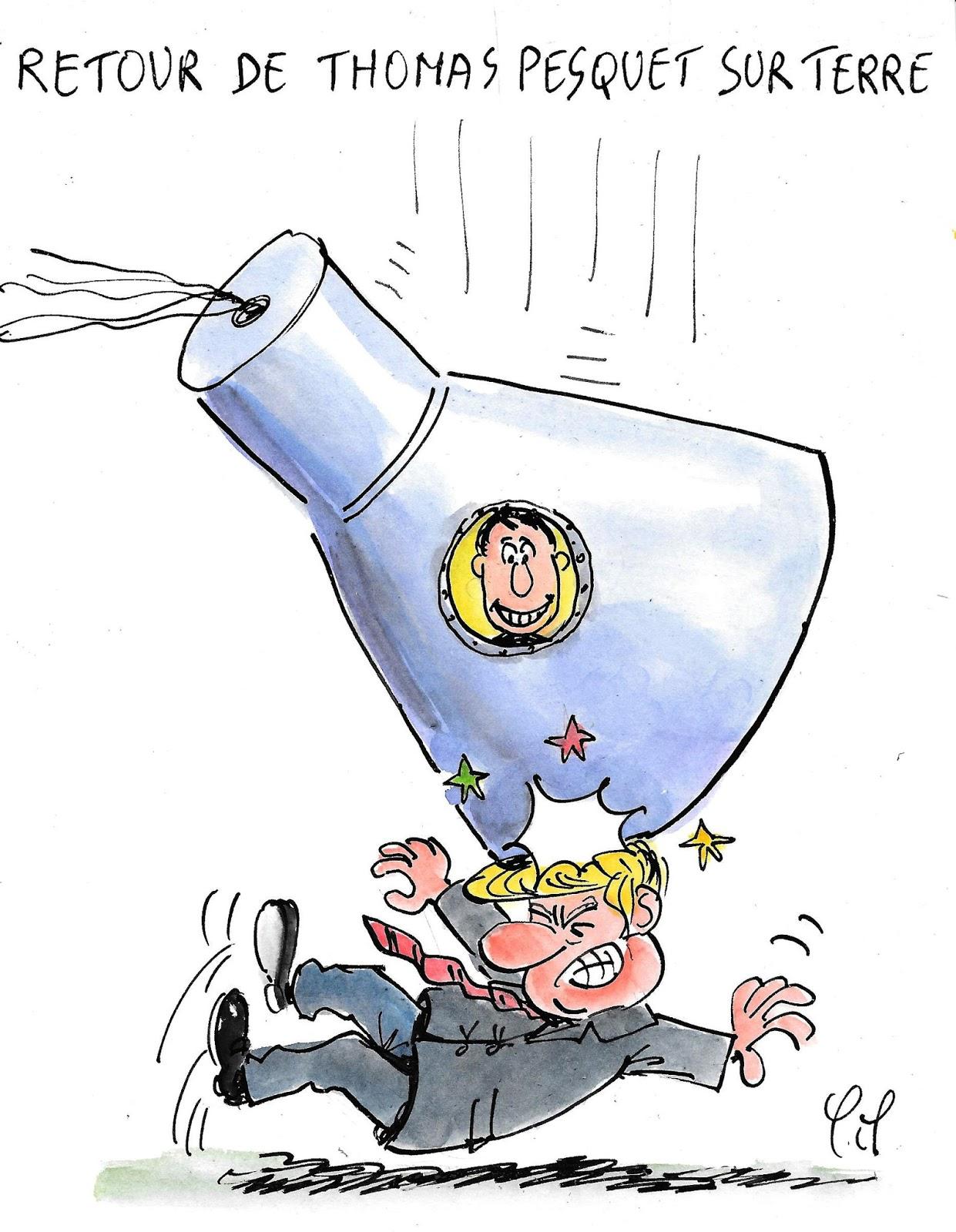 Le dessin du jour (humour en images) - Page 6 Retour%2Bsur%2Bterre