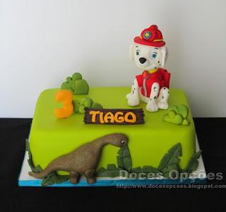 dino birthay cake