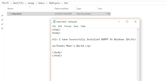 How To Install & Configure XAMPP On Windows 10 - Step By Step 19