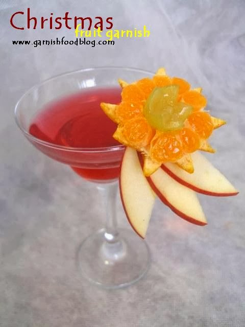 fruit garnish for cocktails martini glass