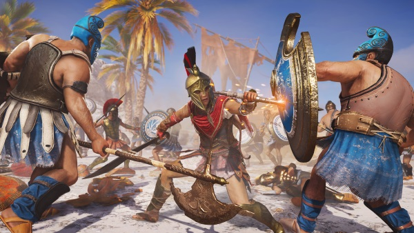 Assassin's Creed Odyssey บนเครื่อง Switch