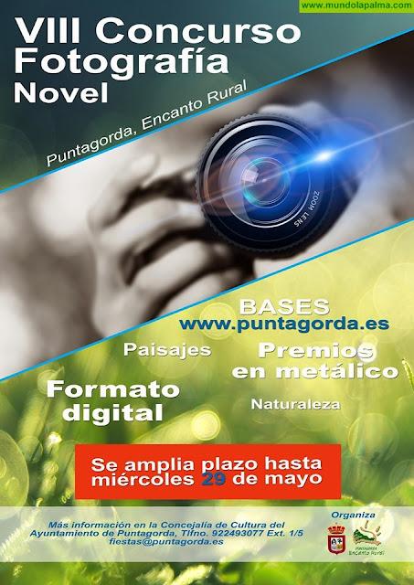 VIII Concurso de Fotografía Novel de Puntagorda