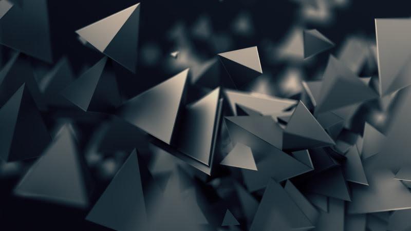 3D Triangular Prism HD