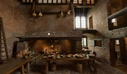 medieval kitchens kitchen modern replicated units yard doors order accessories
