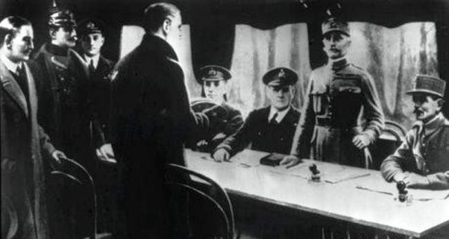 Jerman Mengakui Kekalahan dalam Perang Dunia I