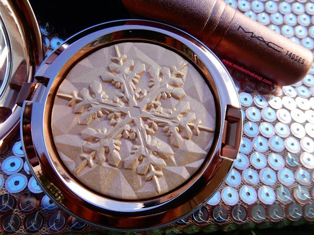 M.A.C Snow Ball 'Show Gold' - www.modenmakeup.com