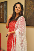 Anusuya in Red at Kalamandir Foundation 7th anniversary Celebrations ~  Actress Galleries 053.JPG