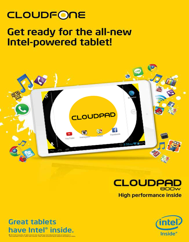 CloudPad 800w