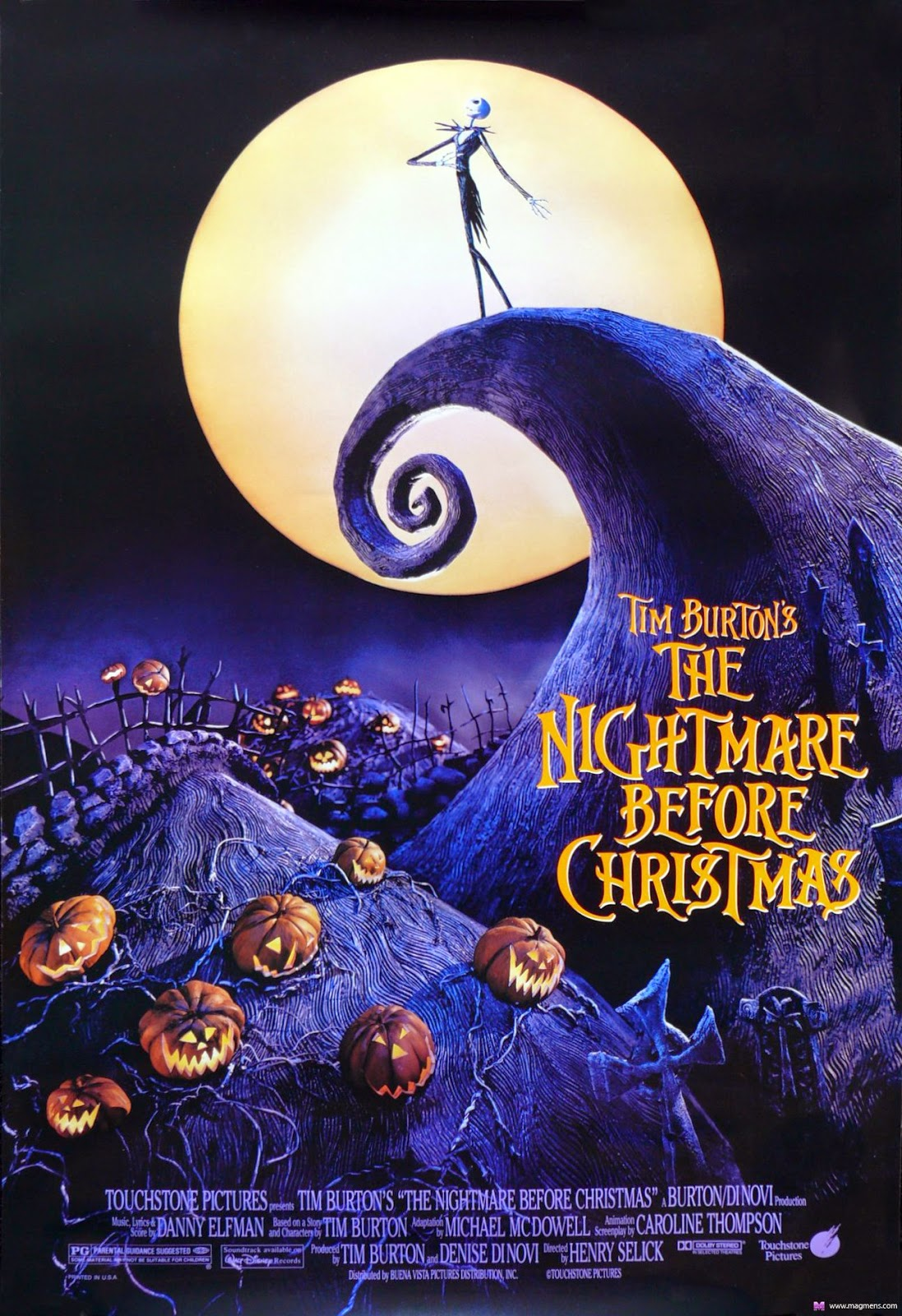 Nightmare Before Christmas recensione poster