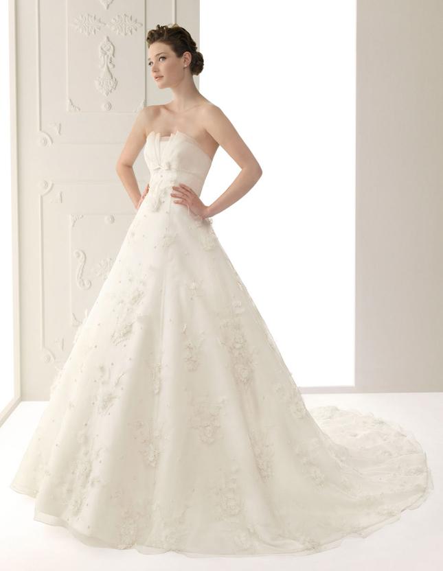 Alma Novia Lace Wedding Dresses 2012