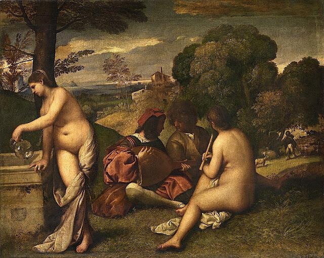 Giorgione: Concerto pastorale