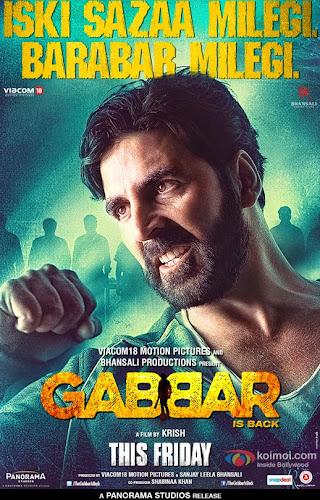 Gabbar is Back (2015) Movie Poster No. 2
