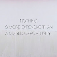 Nothing is more expensive than a Missed opportunity, Fearless Change Open House, Julie Little Fitness, www.HealthyFitFocused.com