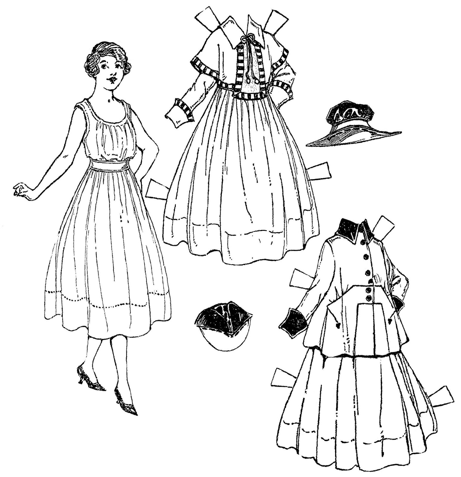 Mostly Paper Dolls Too!: A Pretty Lass and Her New Winter