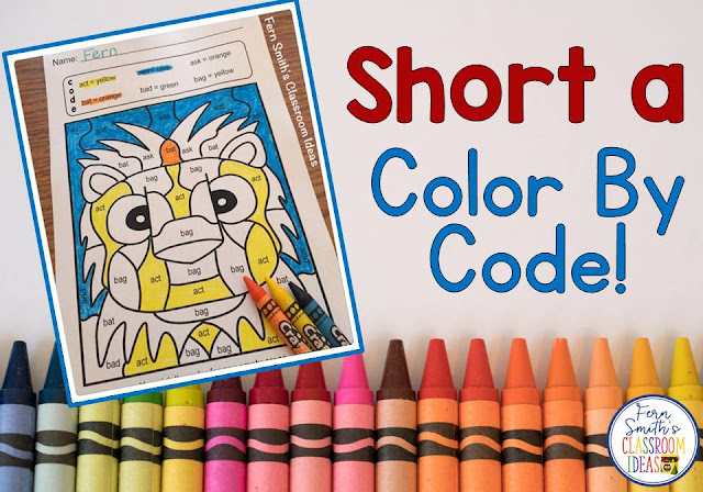 https://www.teacherspayteachers.com/Product/Color-By-Code-Short-a-Words-3255475