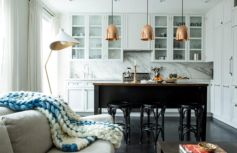 Dica de iluminação: qual a distância certa entre um lustre / luminária pendente e a mesa?