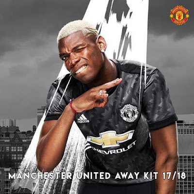 Away Kit Manchester United 17/18