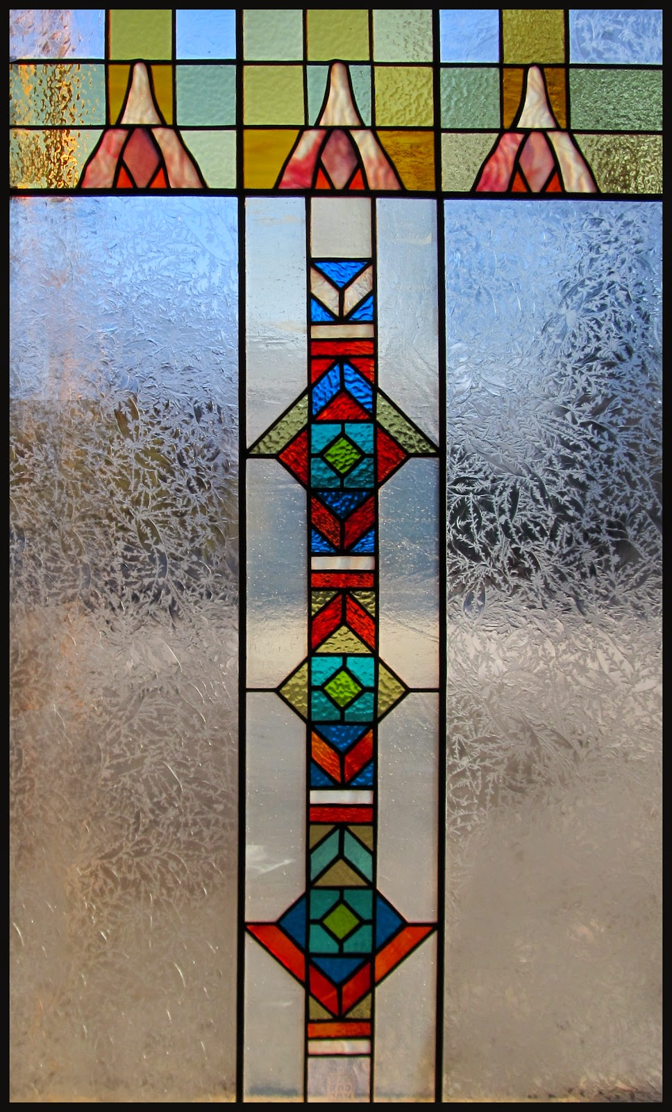 vitráž do dveří