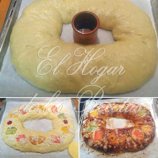 Trucos sobre el Roscón de Reyes: Formado y horneado