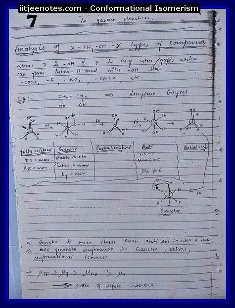Conformational Isomerism7