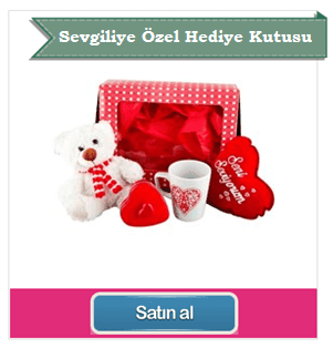 Romantik hediye kutusu