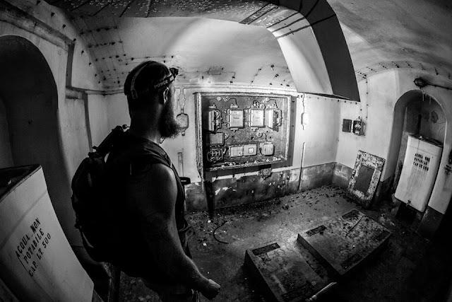Bunker des 1. und 2. WK Udine Vallo Alpino, Alpenwall
