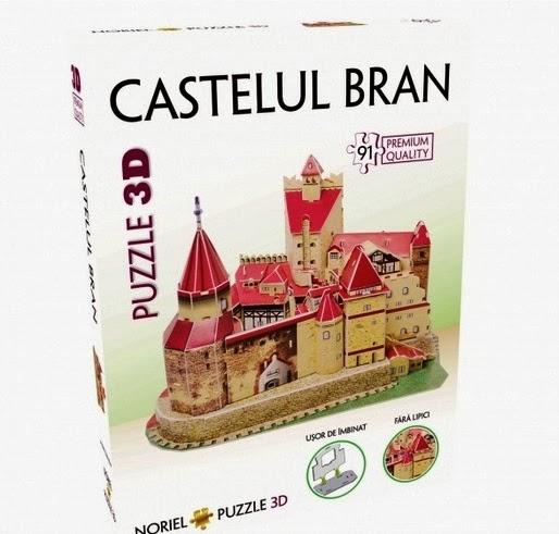 puzzle 3D Castelul Bran - Noriel