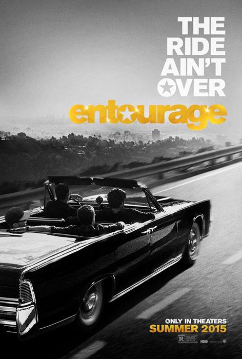 Teaser poster Entourage