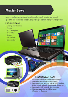 Rental komputer rental laptop rental tv plasma surabaya