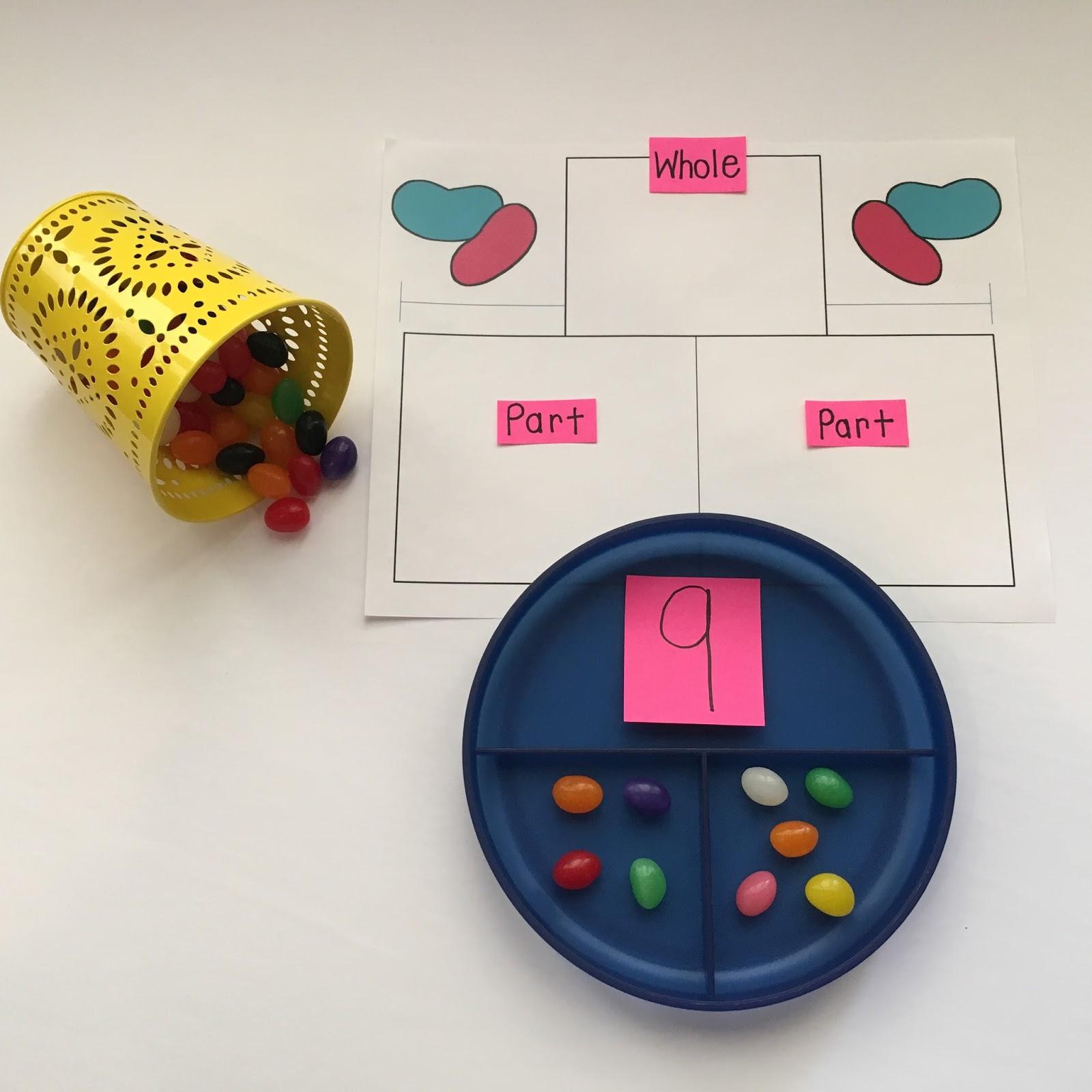 Jelly Bean Math | TheHappyTeacher