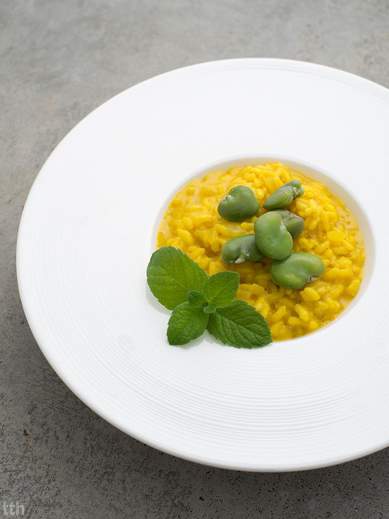 Risotto cytrynowe z bobem weganskie, bezglutenowe roślinna kuchnia blog
