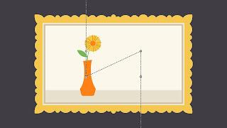 Dasar-dasar desain grafis balance rule thirds path