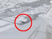 Benda Misterius Terbang Melewati Pesawat Ryanair