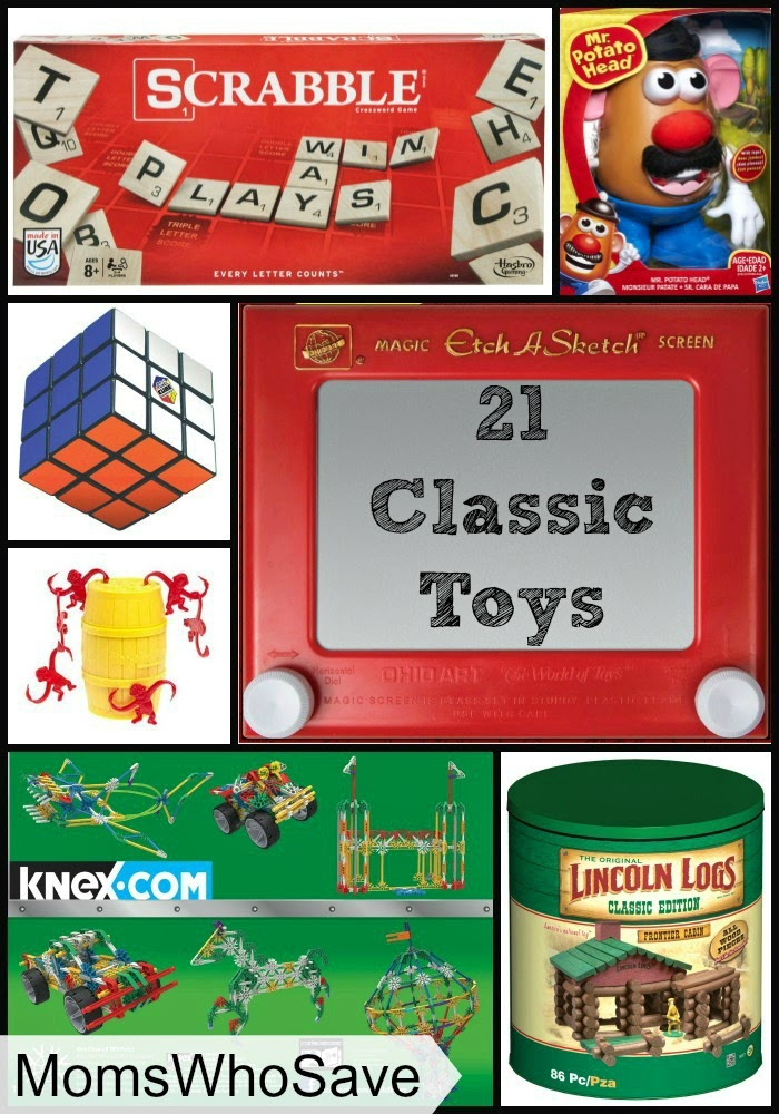 MomsWhoSave | 21 Classic Toys -- Bring the Fun Your Remember to Your Kids!