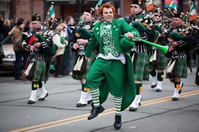 st patrick day parade dublin ireland