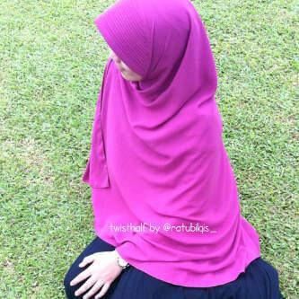 Gambar Wanita Hijab Syari Dari Belakang Hijabfest