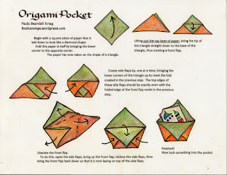 foldable origami envelope