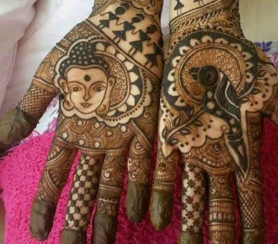 Indian Mehndi Designs For Palm
