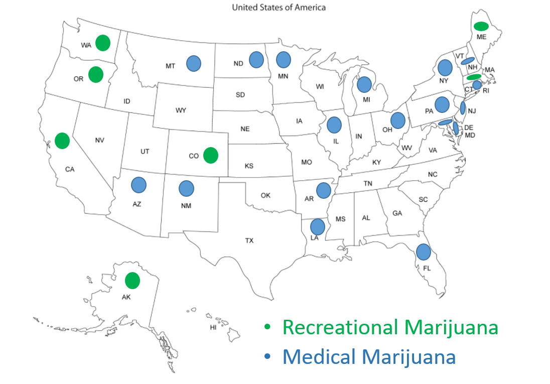 our office has increasingly received requests for guidance on importation of marijuana paraphernalia products to the u s where twenty six 26 states have